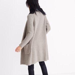 madewell | wafflestitch sweater-coat